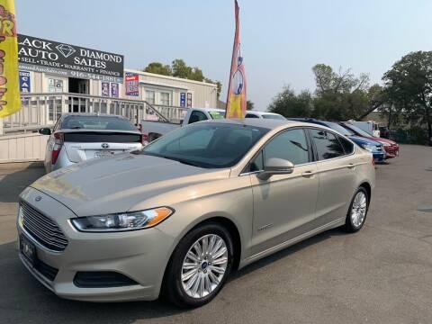 2015 Ford Fusion Hybrid for sale at Black Diamond Auto Sales Inc. in Rancho Cordova CA