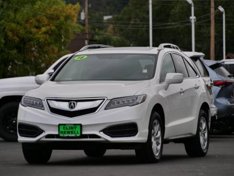 2018 Acura RDX for sale at CLINT NEWELL USED CARS in Roseburg OR