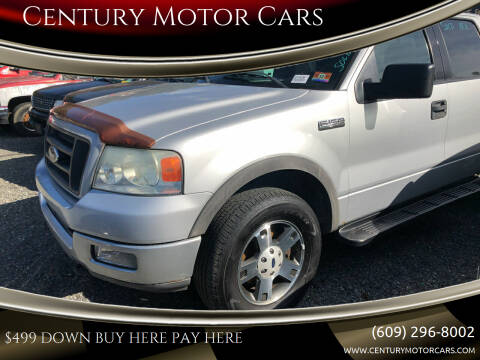 2004 Ford F-150 for sale at Century Motor Cars in West Creek NJ