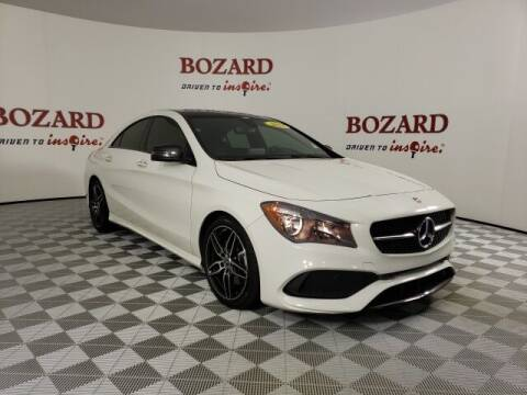 2018 Mercedes-Benz CLA for sale at BOZARD FORD in Saint Augustine FL