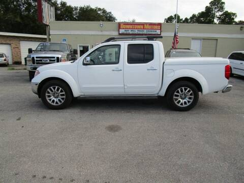 2012 Nissan Frontier for sale at DERIK HARE in Milton FL