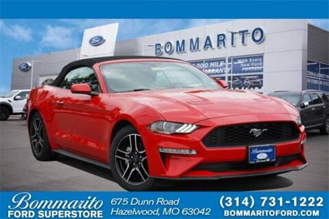 2020 Ford Mustang for sale at NICK FARACE AT BOMMARITO FORD in Hazelwood MO