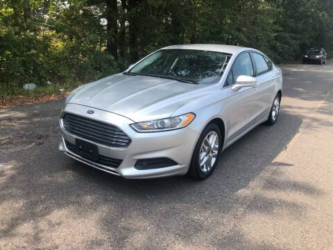 2013 Ford Fusion for sale at Village Wholesale in Hot Springs Village AR