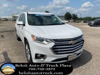 2021 Chevrolet Traverse for sale at BELOIT AUTO & TRUCK PLAZA INC in Beloit KS