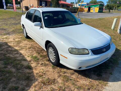 1998 Chevrolet Malibu for sale at Nash's Auto Sales Used Car Dealer in Milton FL