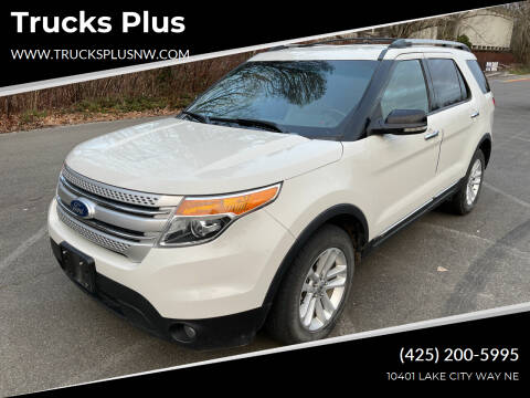 2011 Ford Explorer for sale at Trucks Plus in Seattle WA