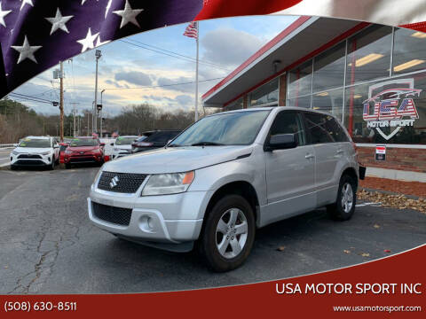 2011 Suzuki Grand Vitara for sale at USA Motor Sport inc in Marlborough MA