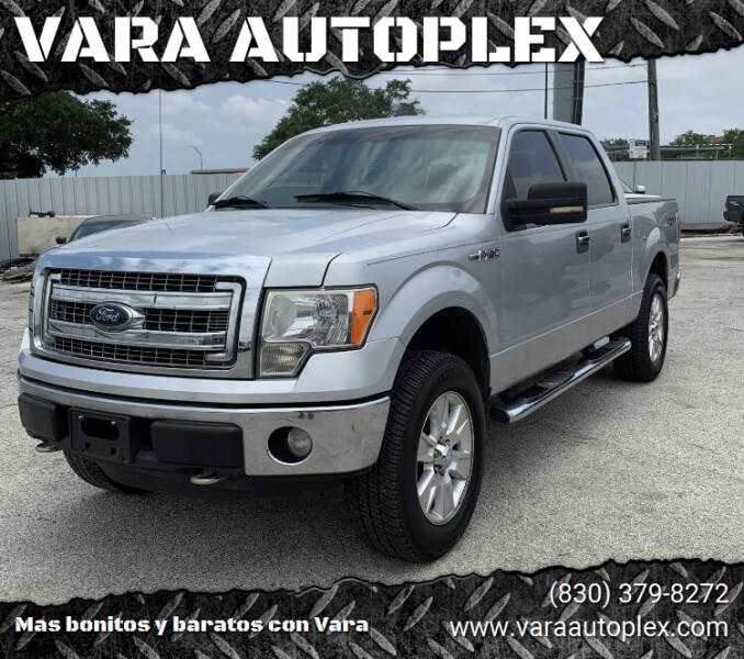 2013 Ford F-150 for sale at VARA AUTOPLEX in Seguin TX