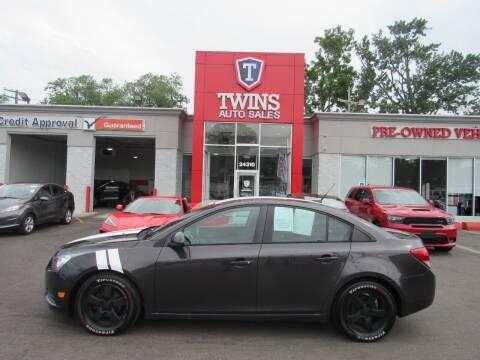2014 Chevrolet Cruze for sale at Twins Auto Sales Inc - Detroit in Detroit MI