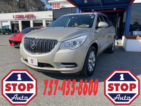 2014 Buick Enclave for sale at 1 Stop Auto in Norfolk VA
