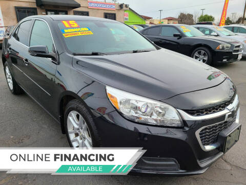 2015 Chevrolet Malibu for sale at Super Cars Sales Inc #1 - Super Auto Sales Inc #2 in Modesto CA