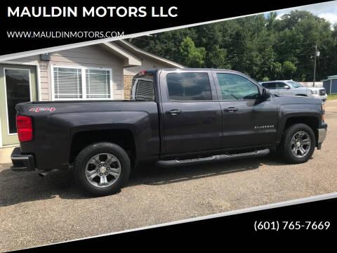 2014 Chevrolet Silverado 1500 for sale at MAULDIN MOTORS LLC in Sumrall MS