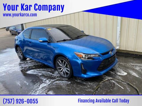 2015 Scion tC for sale at Your Kar Company in Norfolk VA