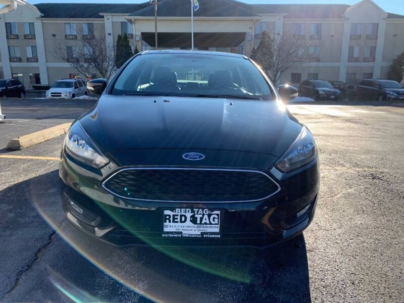 2015 Ford Focus for sale at RED TAG MOTORS in Sycamore IL