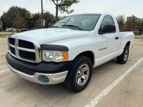 2003 Dodge Ram Pickup 1500 for sale at Safe Trip Auto Sales in Dallas TX