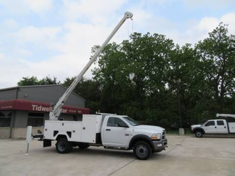 2011 Dodge Ram Chassis 5500 for sale at TIDWELL MOTOR in Houston TX