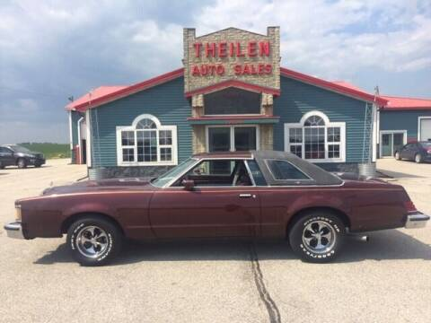 1979 Mercury Cougar for sale at THEILEN AUTO SALES in Clear Lake IA