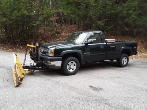 2003 Chevrolet Silverado 2500HD for sale at H P M Sales in Goffstown NH