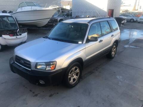 2003 Subaru Forester for sale at OCEAN IMPORTS in Midway City CA