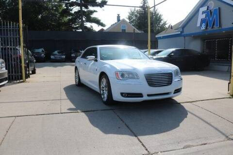2013 Chrysler 300 for sale at F & M AUTO SALES in Detroit MI