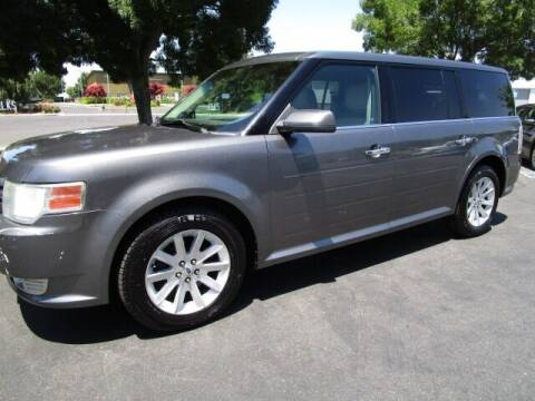2010 Ford Flex for sale at KM MOTOR CARS in Modesto CA