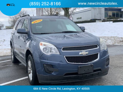 2012 Chevrolet Equinox for sale at New Circle Auto Sales LLC in Lexington KY
