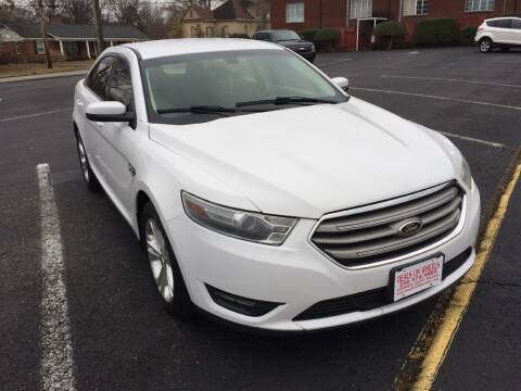 2013 Ford Taurus for sale at DEALS ON WHEELS in Moulton AL