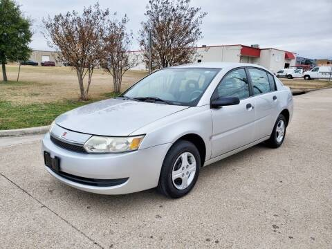 2003 Saturn Ion for sale at DFW Autohaus in Dallas TX