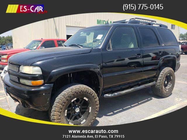 2002 Chevrolet Tahoe for sale at Escar Auto in El Paso TX