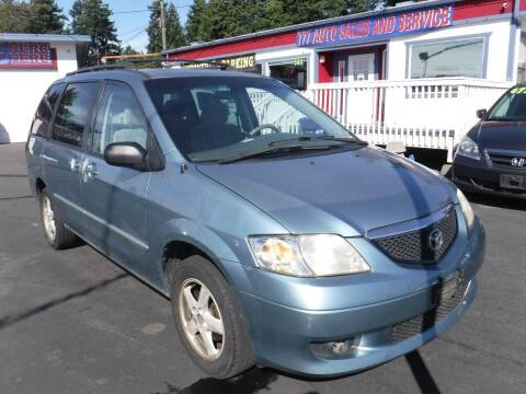 2003 Mazda MPV for sale at 777 Auto Sales and Service in Tacoma WA