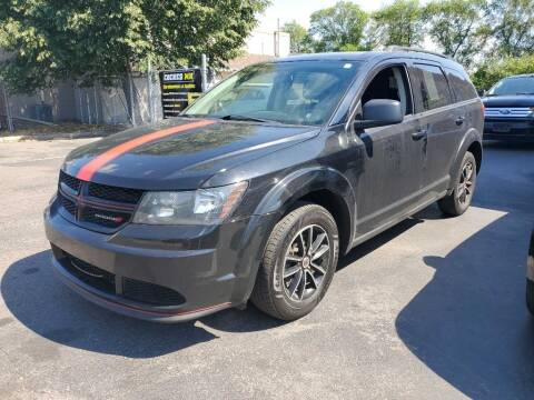 2018 Dodge Journey for sale at MIDWEST CAR SEARCH in Fridley MN