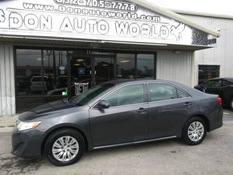2012 Toyota Camry for sale at Don Auto World in Houston TX