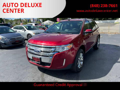 2014 Ford Edge for sale at AUTO DELUXE CENTER in Toms River NJ