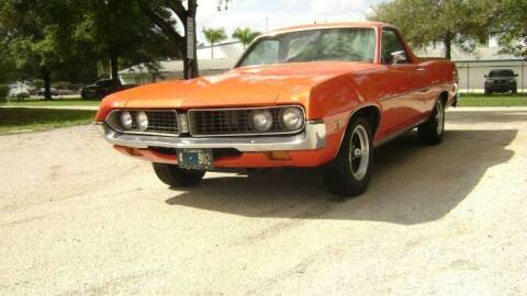 1971 Ford Ranchero for sale at Classic Car Deals in Cadillac MI