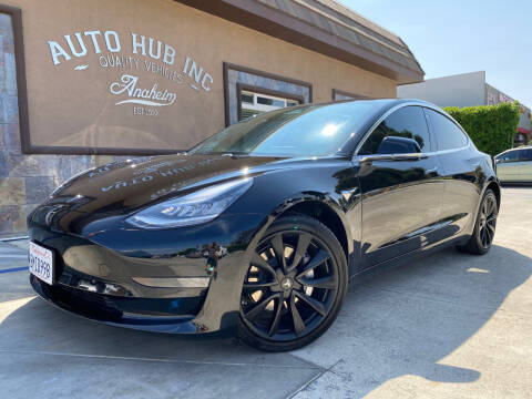 2019 Tesla Model 3 for sale at Auto Hub, Inc. in Anaheim CA