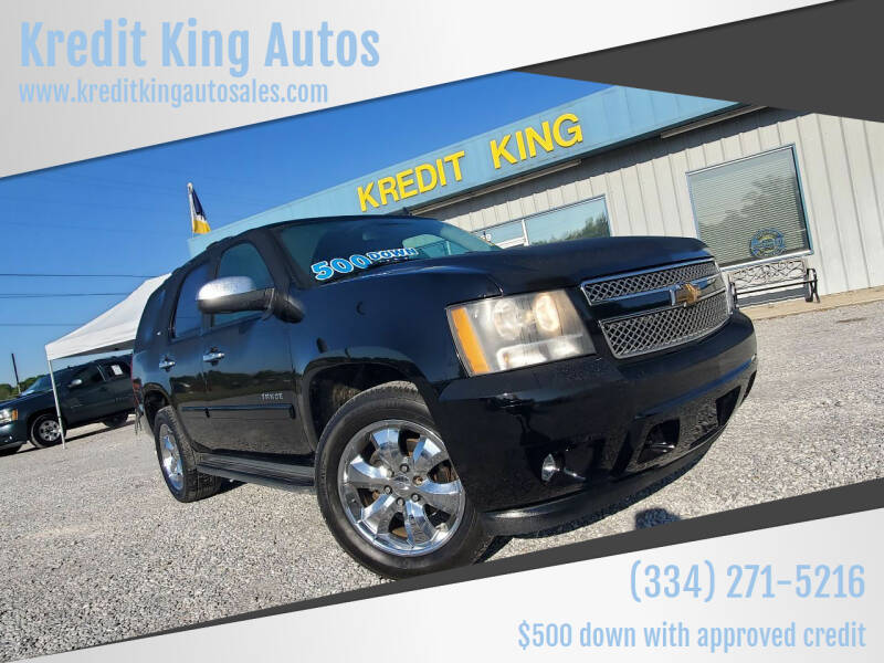 2007 Chevrolet Tahoe for sale at Kredit King Autos in Montgomery AL
