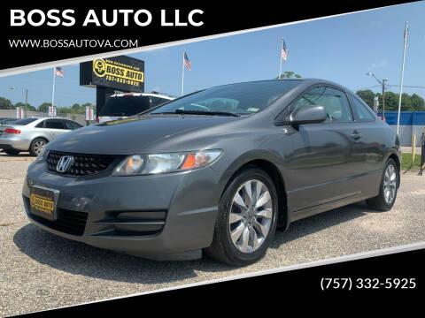 2009 Honda Civic for sale at BOSS AUTO LLC in Norfolk VA