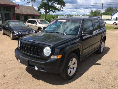 2012 Jeep Patriot for sale at Winner's Circle Auto Sales in Tilton NH