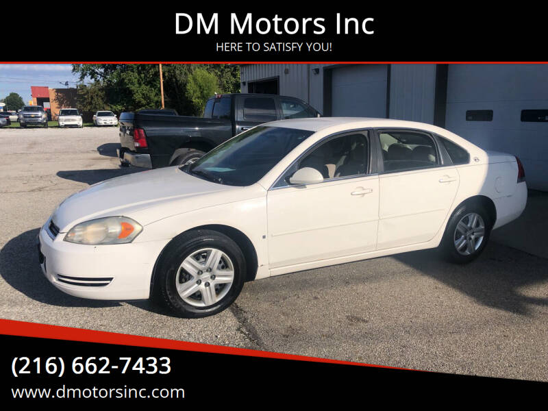 2006 Chevrolet Impala for sale at DM Motors Inc in Maple Heights OH