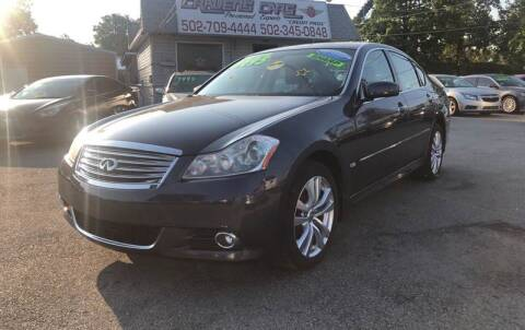 2009 Infiniti M35 for sale at Craven Cars in Louisville KY