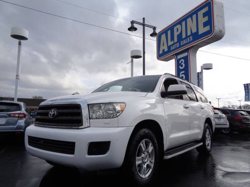 2008 Toyota Sequoia for sale at Alpine Auto Sales in Salt Lake City UT