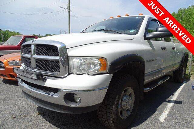 2005 Dodge Ram Pickup 3500 for sale at Brandon Reeves Auto World in Monroe NC
