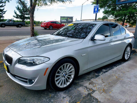 2013 BMW 5 Series for sale at J & M PRECISION AUTOMOTIVE, INC in Fort Collins CO