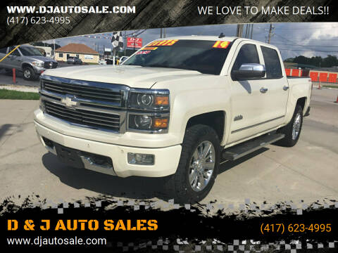 2014 Chevrolet Silverado 1500 for sale at D & J AUTO SALES in Joplin MO