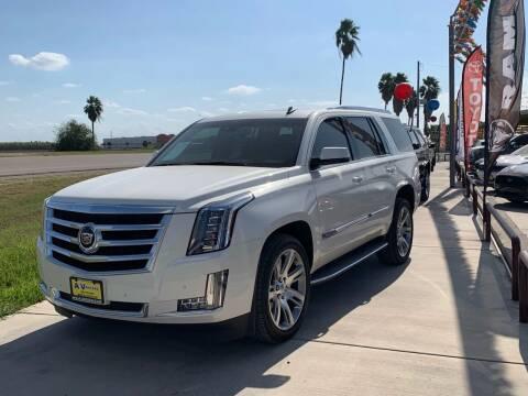 2015 Cadillac Escalade for sale at A & V MOTORS in Hidalgo TX