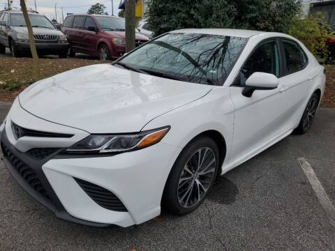 2020 Toyota Camry for sale at THE TRAIN AUTO SALES & LEASING in Mauldin SC