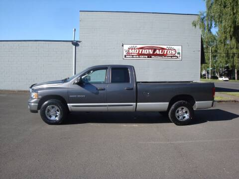 2003 Dodge Ram Pickup 1500 for sale at Motion Autos in Longview WA