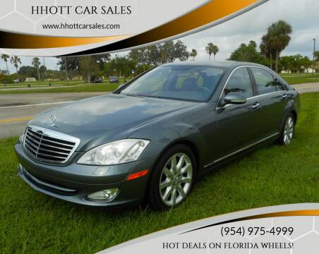 2007 Mercedes-Benz S-Class for sale at HHOTT CAR SALES in Deerfield Beach FL