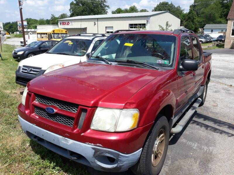 2004 Ford Explorer Sport Trac for sale at GALANTE AUTO SALES LLC in Aston PA