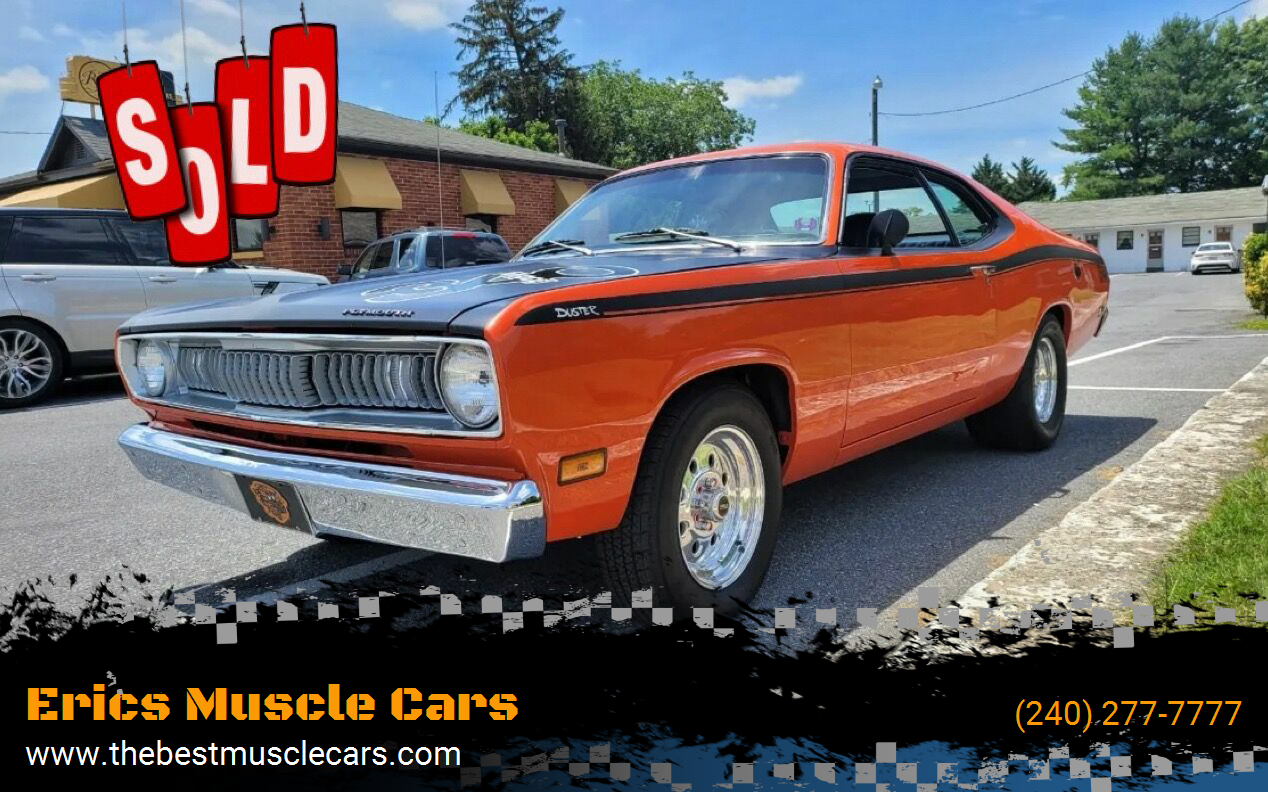 1971 Plymouth Duster SOLD SOLD SOLD
